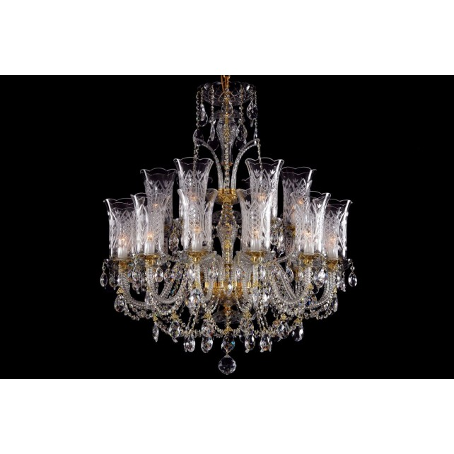 Bohemian BCC18DT Deluxe Crystal Chandelier - 18-Light