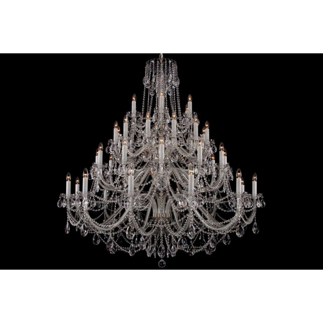 Bohemian BCC42XLS Large Crystal Chandelier - 42-Light