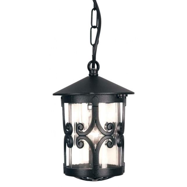 Elstead BL13B BLACK Hereford Porch Chain Lantern