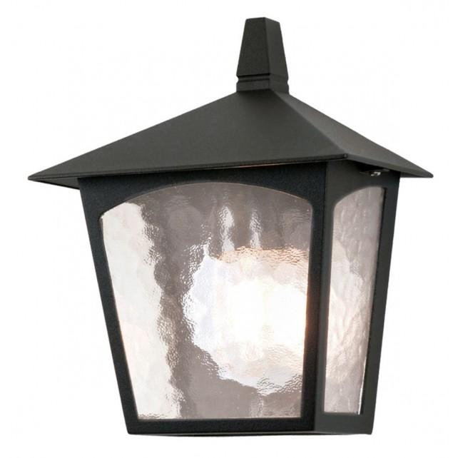 Elstead BL15 BLACK York Flush Light Lantern