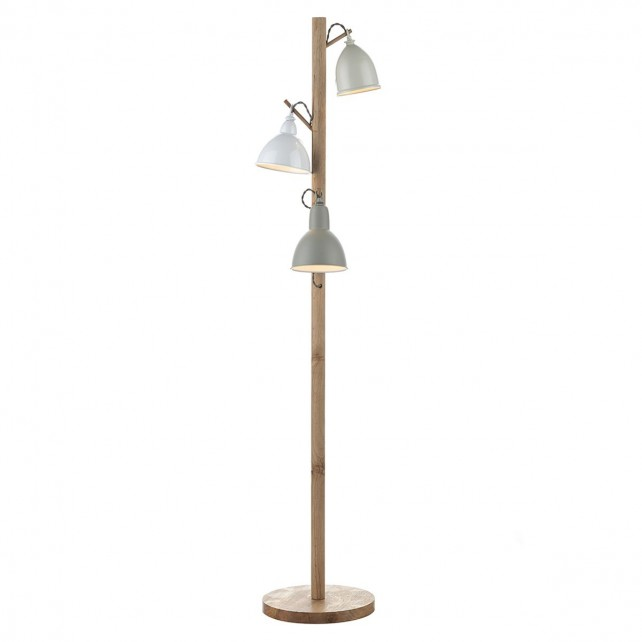 Blyton Floor Lamp - 3 Light, Complete with Shades