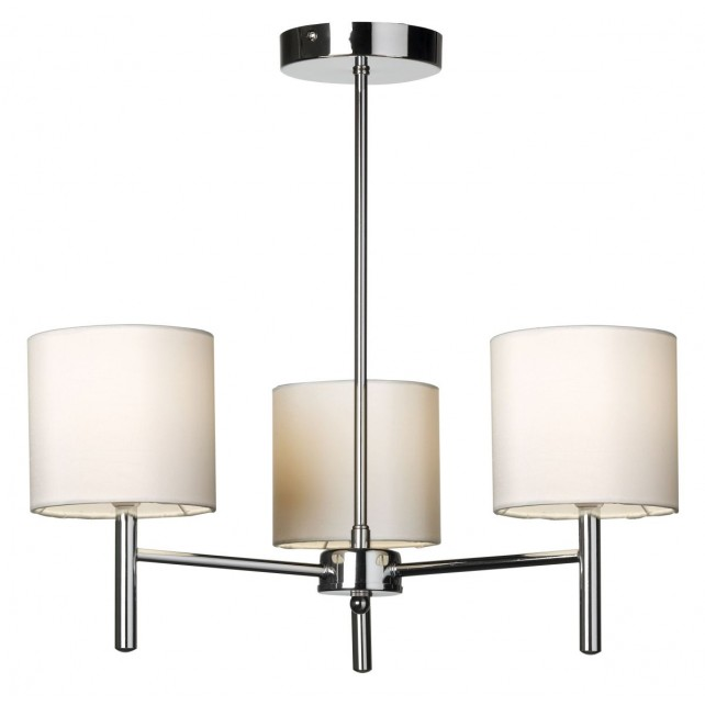 Brio Ceiling Light - 3 Light - Polished Chrome