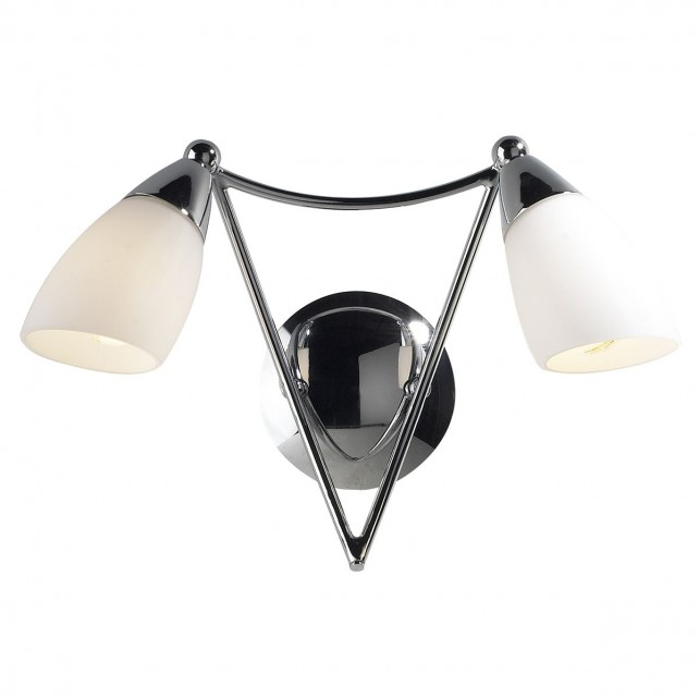 Bureau Wall Light - Polished Chrome