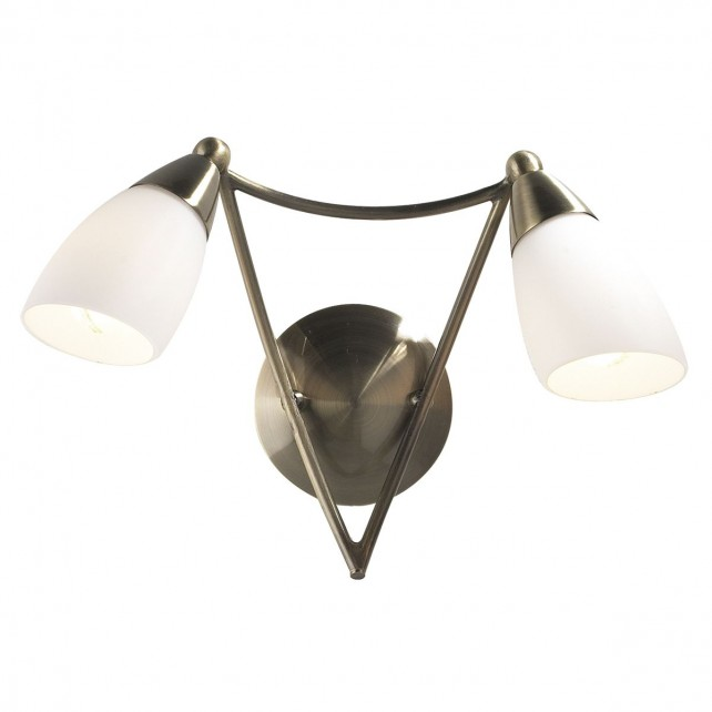 Bureau Wall Light - Antique Brass