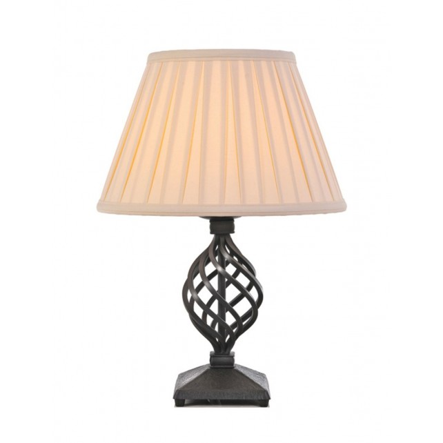 Elstead BY/TL/A BLACK Belfry Table Lamp Black
