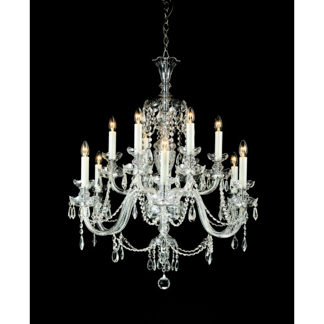 Impex Ostrava Chandelier - 12 Light