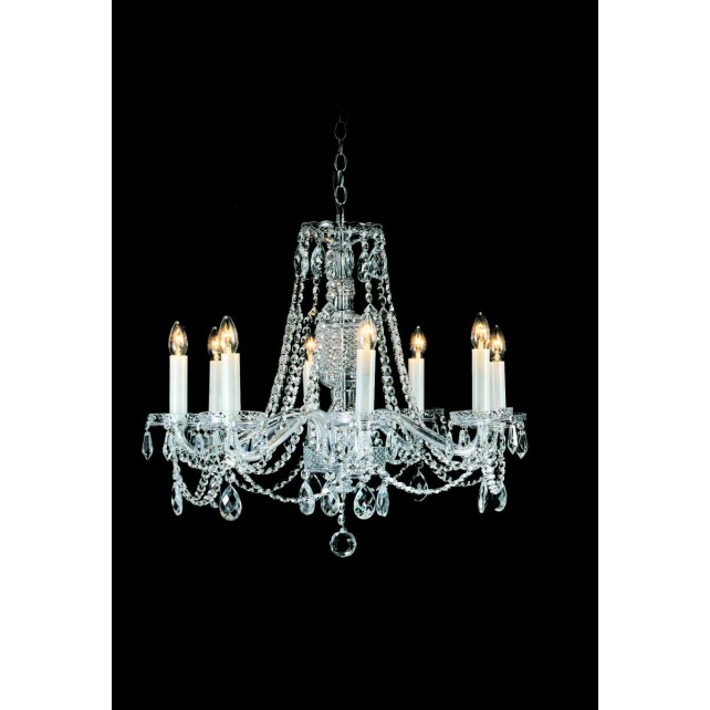 Impex Opava Chandelier - 8 Light