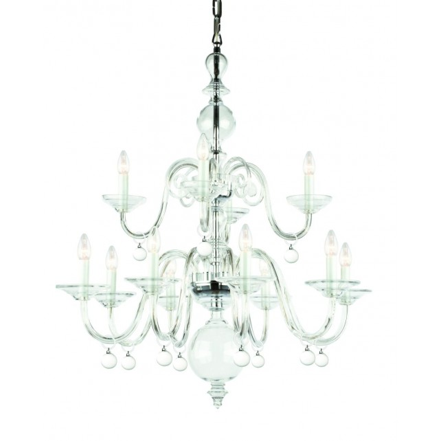 Impex Padova Chandelier - 12 Light