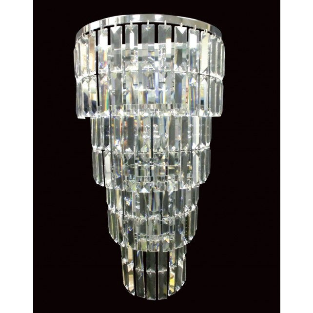 Impex Padua Wall Light Chrome - 5 Light