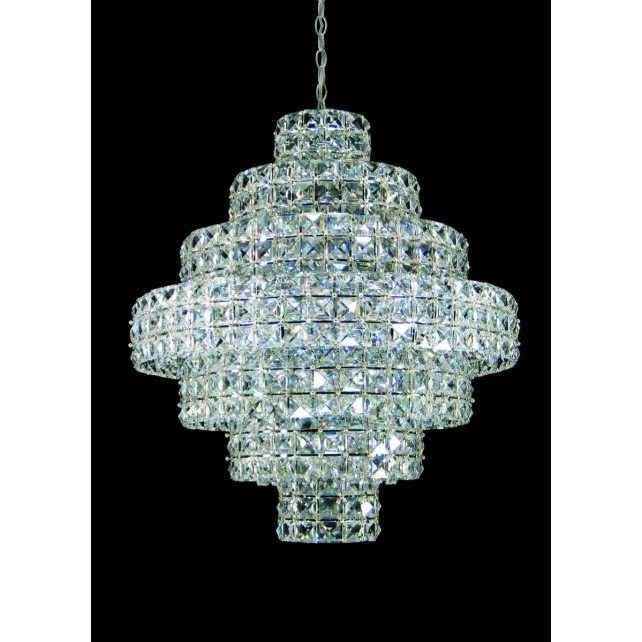 Impex Square Chandelier - 11 Light