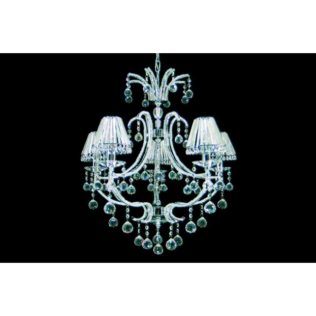 Impex Perpignan Chandelier - 5 Light