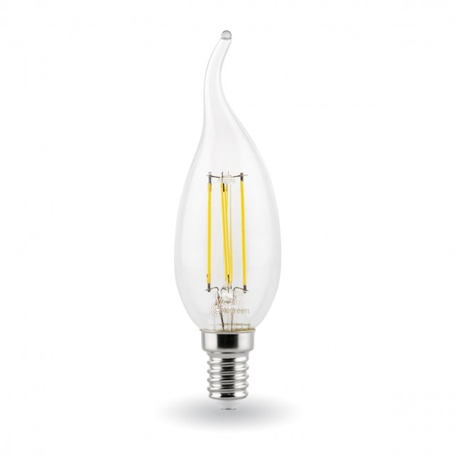 4W LED Filament Tipped Candle E14/SES - Suitable alternative to 40W