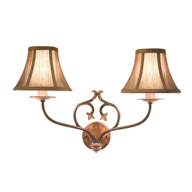 Elstead CN2 BUR/GOLD Coniston 2 - Light Wall Light Burnished Gold