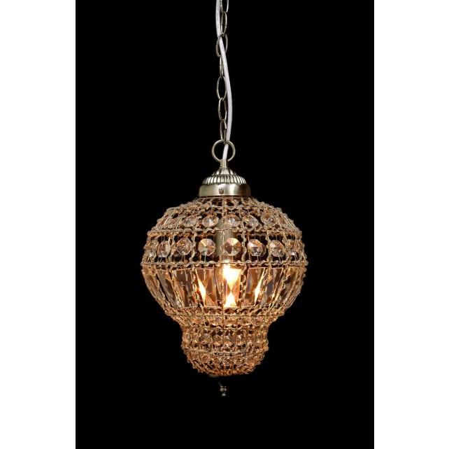 Impex Morocco Pendant Satin Nickel - 1 Light