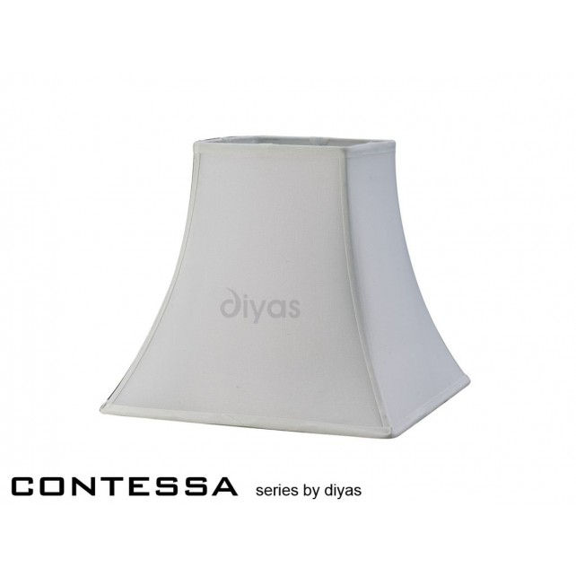 Diyas Contessa Medium Square Shade 1 Light White