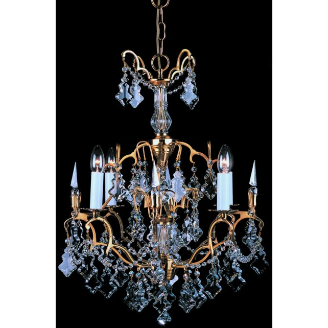 Impex Montmartre Chandelier French Gold - 4 Light