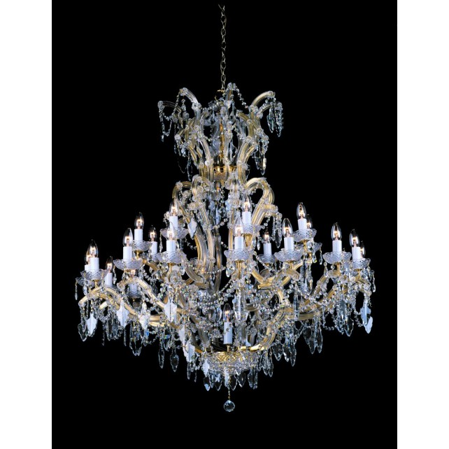 Impex Morina Chandelier Gold - 25 Light