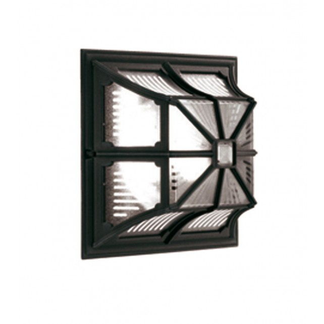 Elstead CP12 BLACK Chapel Up Ceiling Flush Light Lantern Black
