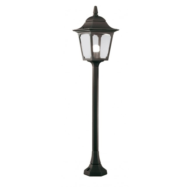 Elstead CP5 BLACK Chapel Pillar Lantern Black