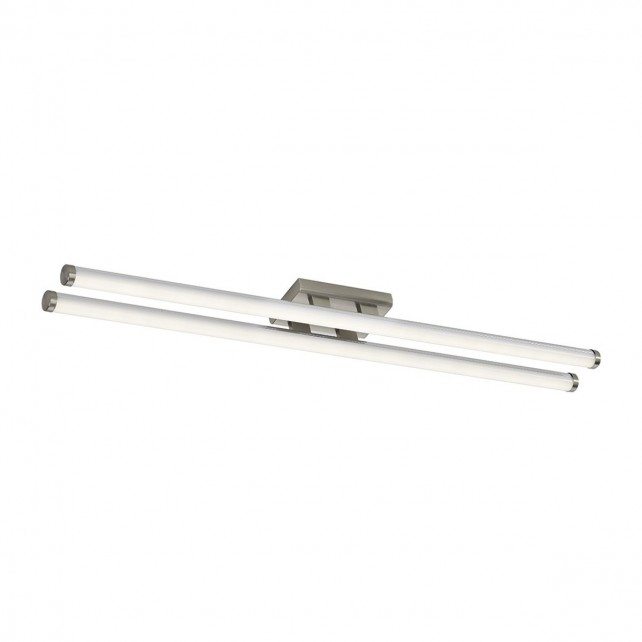 Dar Cuisine Small Led Flush Satin Chrome