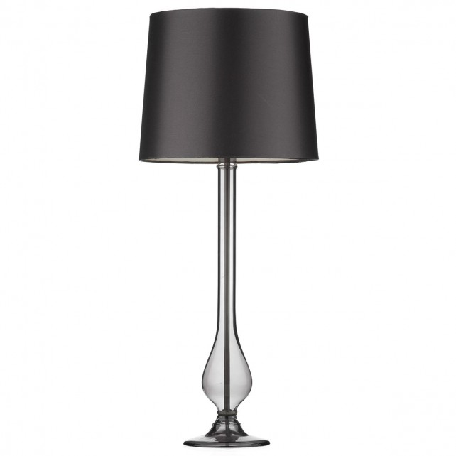 Dillon Table Lamp - Smoked