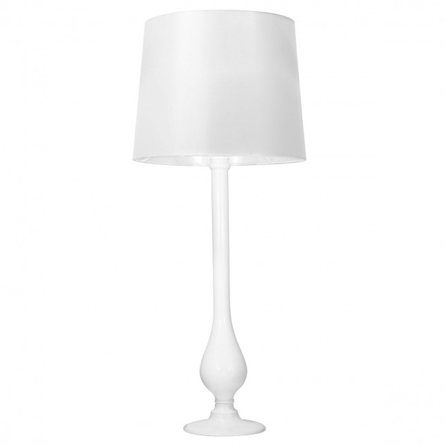 Dillon Table Lamp - White