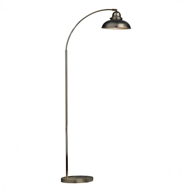 Dynamo Floor Lamp Antique Chrome