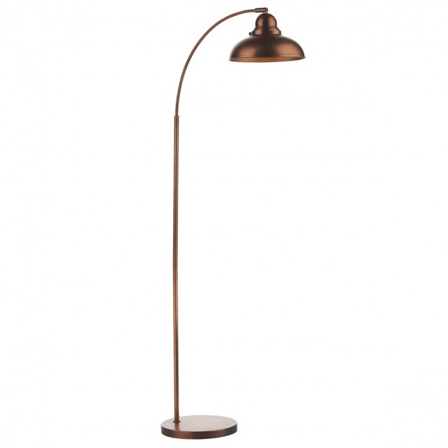 Dynamo Floor Lamp Antique Copper
