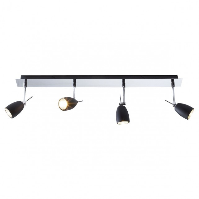 Empire Ceiling Light - Matt Black