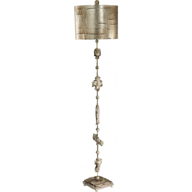 Flambeau FB/FRAGMENT-S Fragment Small Silver Table Lamp