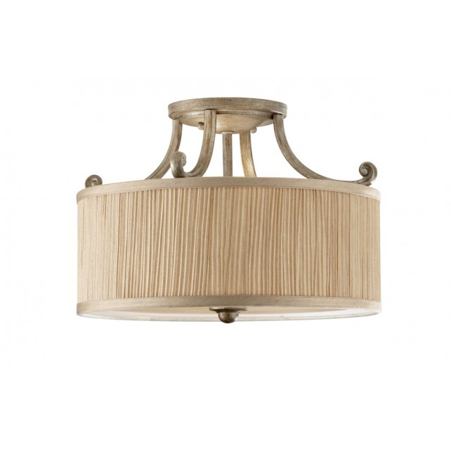 Feiss FE/ABBEY/SF Abbey Semi-Flush Light