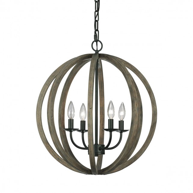 Feiss FE/ALLIER/4P WW Allier 4-Light Pendant