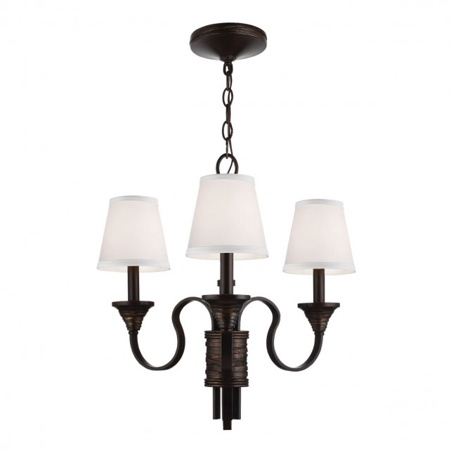 Feiss FE/ARBOR CREEK3 Arbor Creek 3-Light Chandelier