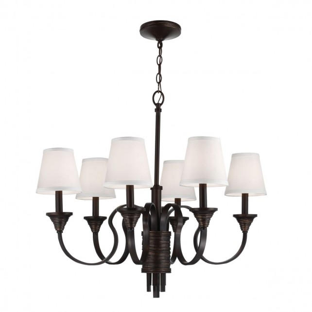 Feiss FE/ARBOR CREEK6 Arbor Creek 6-Light Chandelier