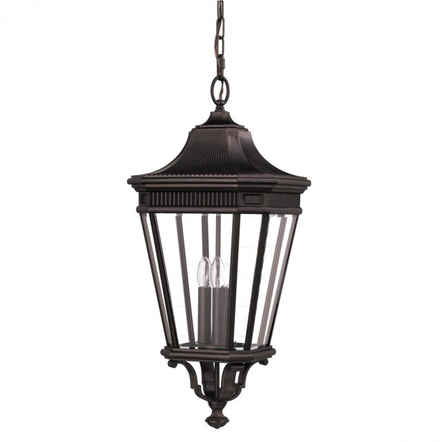 Feiss FE/COTSLN8/L GB Cotswold Lane Large Chain Lantern