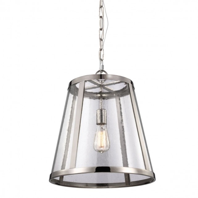 Feiss FE/HARROW/P/M Harrow Medium Pendant