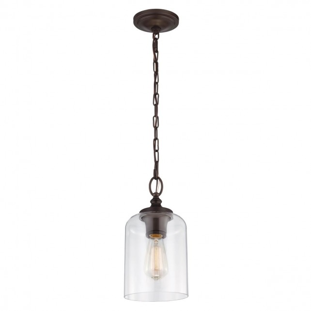 Feiss FE/HOUNSLOW/PORB Hounslow Mini Pendant