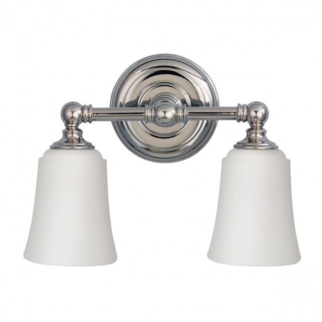 Feiss FE/HUGOLAKE2BATH Huguenot Lake 2-Light Above Mirror Light