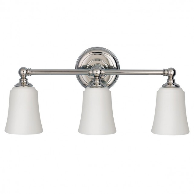 Feiss FE/HUGOLAKE3BATH Huguenot Lake 3-Light Above Mirror Light