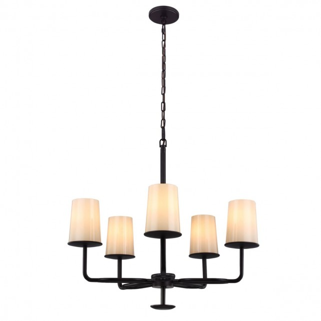 Feiss FE/HUNTLEY5 Huntley 5-Light Chandelier