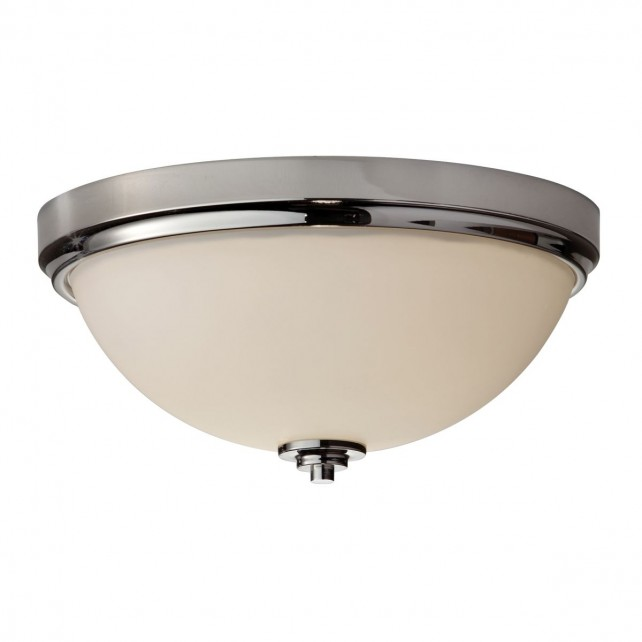 Feiss FE/MALIBU/F BATH Malibu Flush Mount