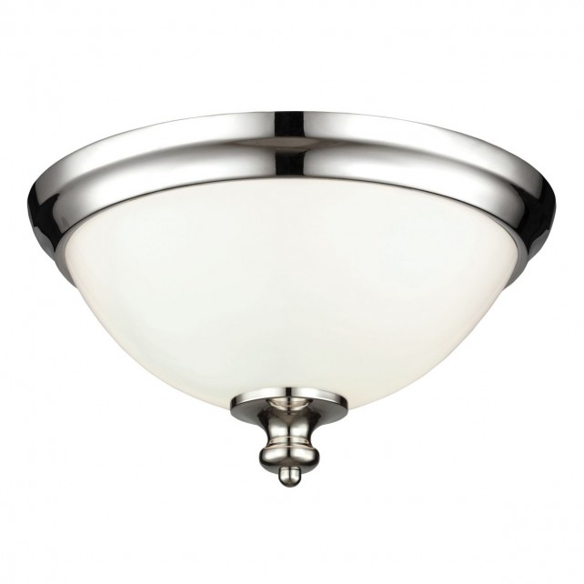 Feiss FE/PARKMAN/F PN Parkman Flush Mount