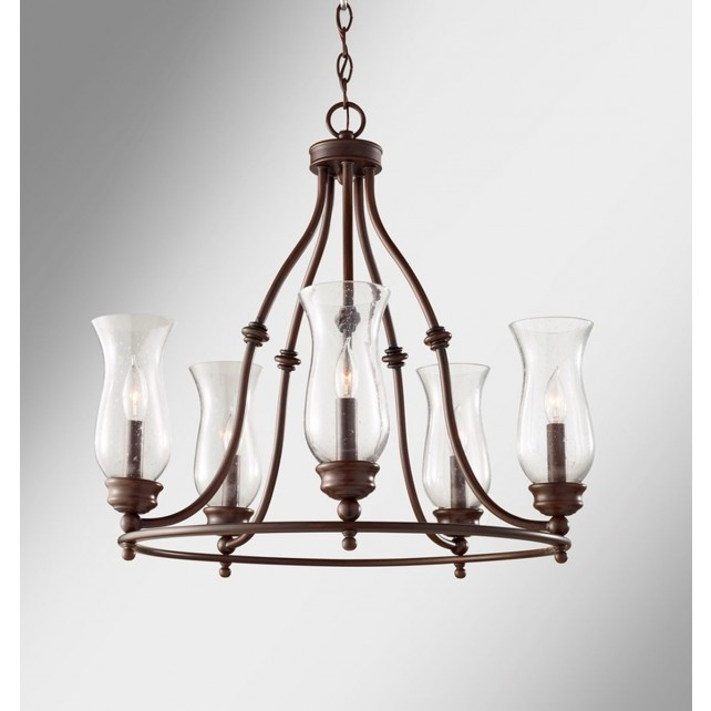 Feiss FE/PICKERINGL5 Pickering Lane 5 - Light Chandelier