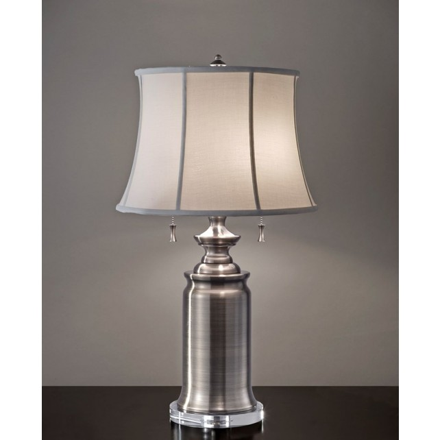 Feiss FE/STATERM TL AN Stateroom 2 - Light Table Lamp Antique Nickel