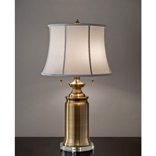 Feiss FE/STATERM TL BB Stateroom 2 - Light Table Lamp Bali Brass
