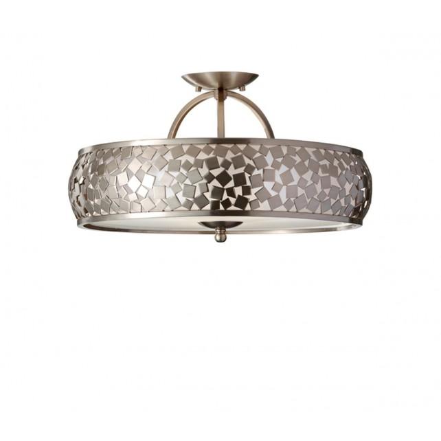 Feiss FE/ZARA/SF Zara Semi-Flush Light