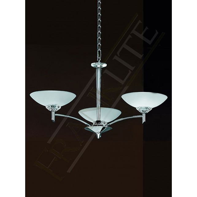 Franklite FL2006/3 Fizz 3 Light Fitting