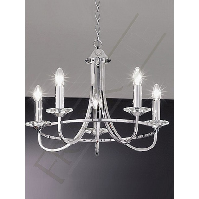 Franklite FL2146/5 Carousel 5 Light Fitting