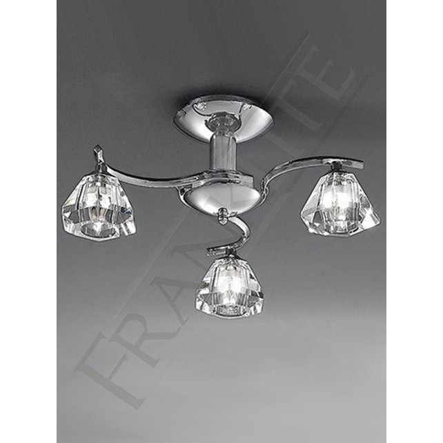 Franklite FL2162/3 Twista 3 Light Fitting