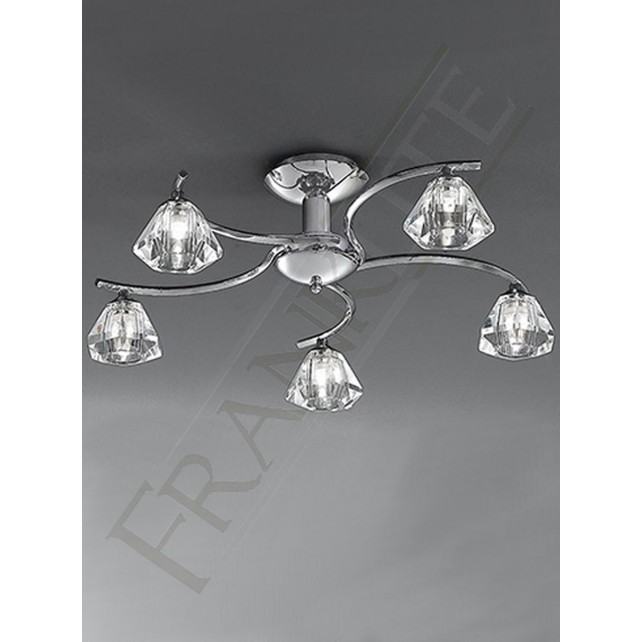Franklite FL2162/5 Twista 5 Light Fitting